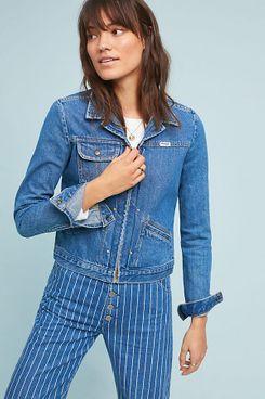 Wrangler Heritage Denim Zip Jacket