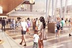 Hudson Yards Courting Fine-Dining Restaurant, Ramen Shops