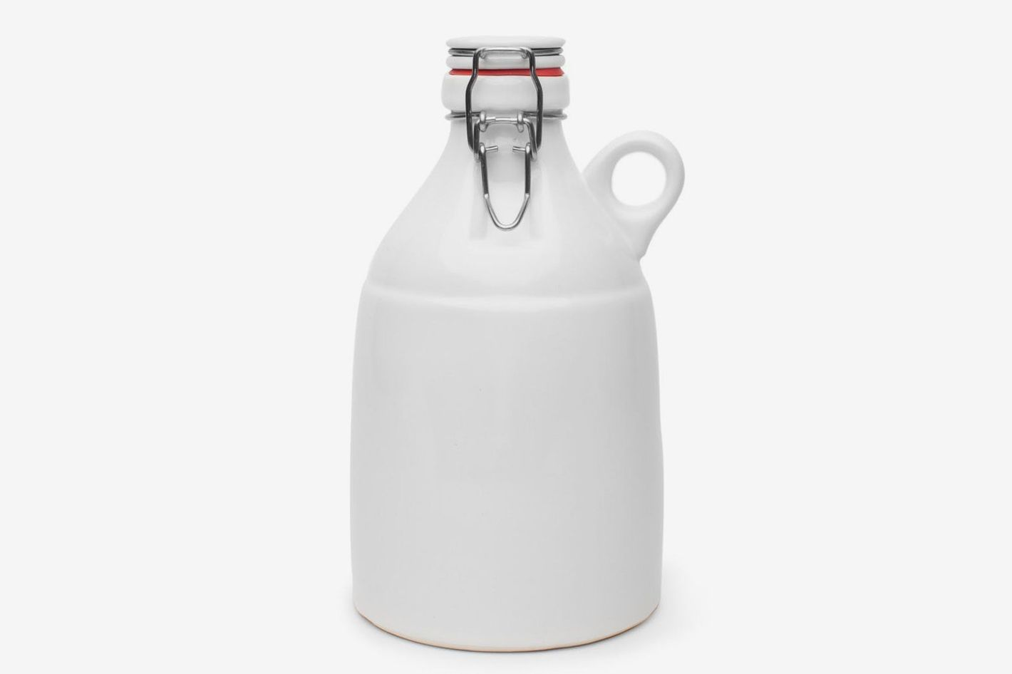 Kaufmann Mercantile Handmade Ceramic Growler With Loop