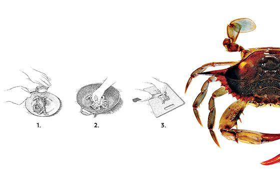 In Season: Eric Ripert's Sautéed Soft-Shell Crabs