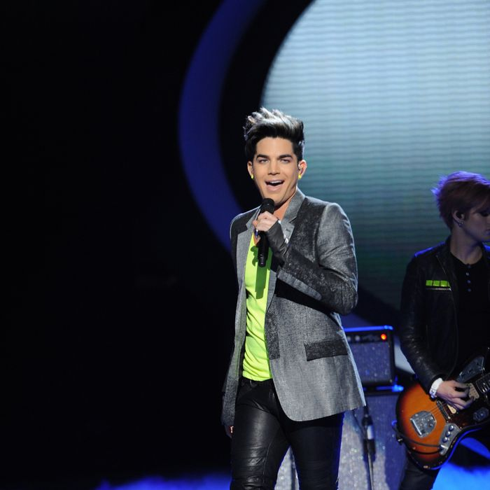 AMERICAN IDOL: Adam Lambert performs on AMERICAN IDOL airing Wednesday, May 16 (8:00-10:00 PM ET/PT) on FOX.