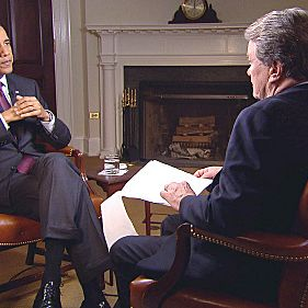 President Obama talks to Steve Kroft in a 60 MINUTES interview conducted at the White House on May 4, 2011. The interview with the president, his first since Osama bin Laden was killed in a covert U.S. military raid on his Pakistan compound, will be broadcast on 60 MINUTES Sunday, May 8 (7:00-8:00 PM, ET/PT) on the CBS Television network. Photo: CBS NEWS/?2011 CBS Broadcasting Inc. All Rights Reserved. *BEST QUALITY SCREENGRAB*