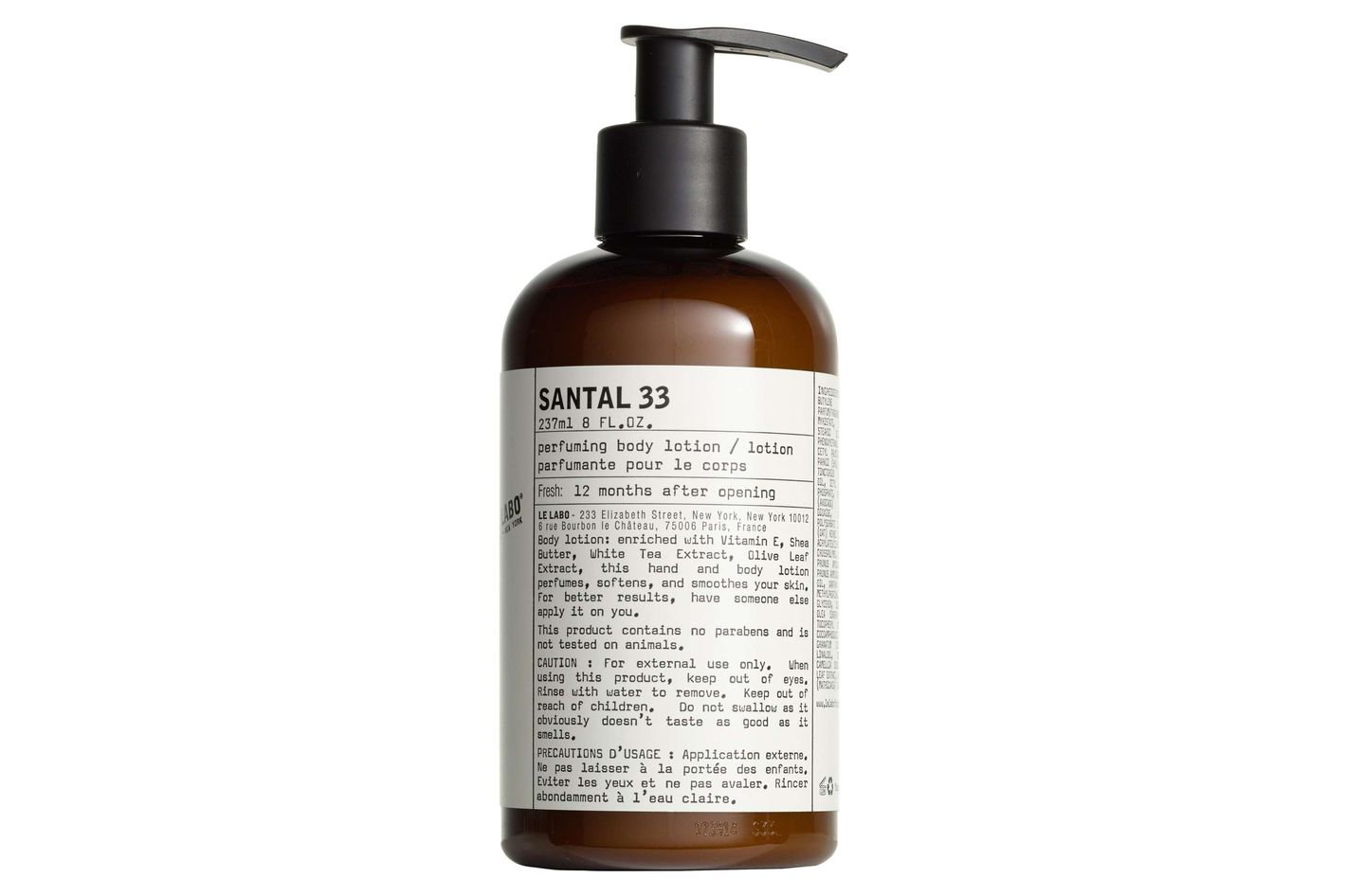 Le Labo Santal 33 Hand and Body Lotion