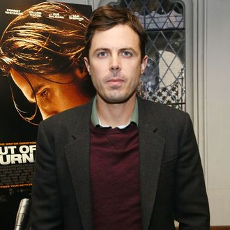 NEW YORK, NY - NOVEMBER 20: Actor Casey Affleck attends a luncheon celebrating the release of