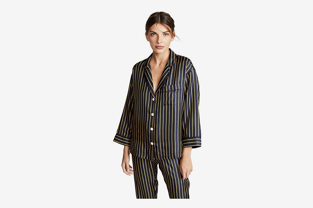 ea7214835f 26 Best Silk Pajamas for Women 2018