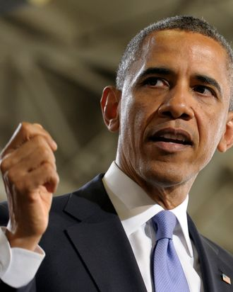 President Barack Obama speaks at the Denver Police Academy in Denver, Wednesday, April 3, 2013. Ratcheting up pressure for Congress to limit access to guns, Obama said that steps taken recently by Colorado to tighten its gun laws show