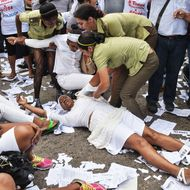 CUBA-UNREST-LADIES-IN-WHITE