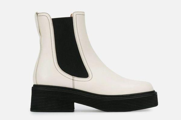 Marni Two-Tone Chelsea Boots