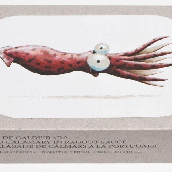 JOSE Gourmet Spiced Calamari in Ragout Sauce