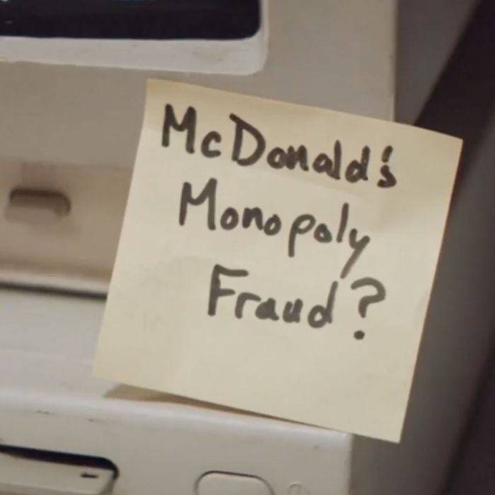 The Post-It that started it all.
