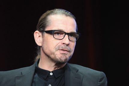 "Creator/Executive Producer Kurt Sutter speaks onstage at the ""Sons of Anarchy"" panel during the FX portion of the 2012 Summer TCA Tour on July 28, 2012 in Beverly Hills, California."