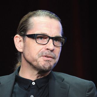 Creator/Executive Producer Kurt Sutter speaks onstage at the