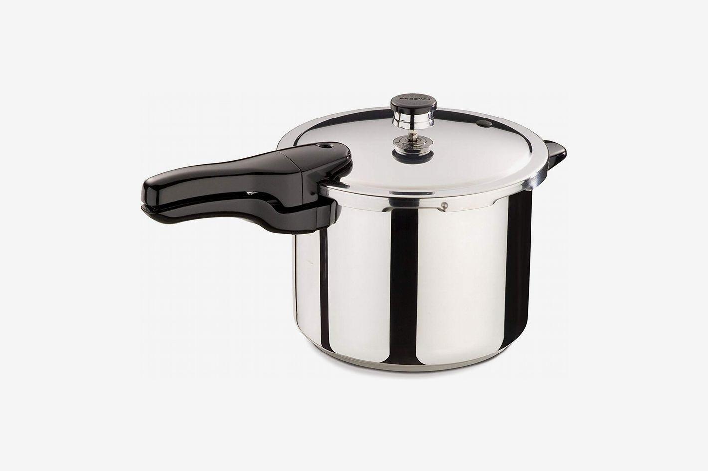 Presto 6-Quart Stainless Steel Pressure Cooker