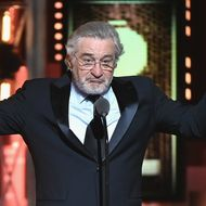 Image result for images of deniro in dunce cap