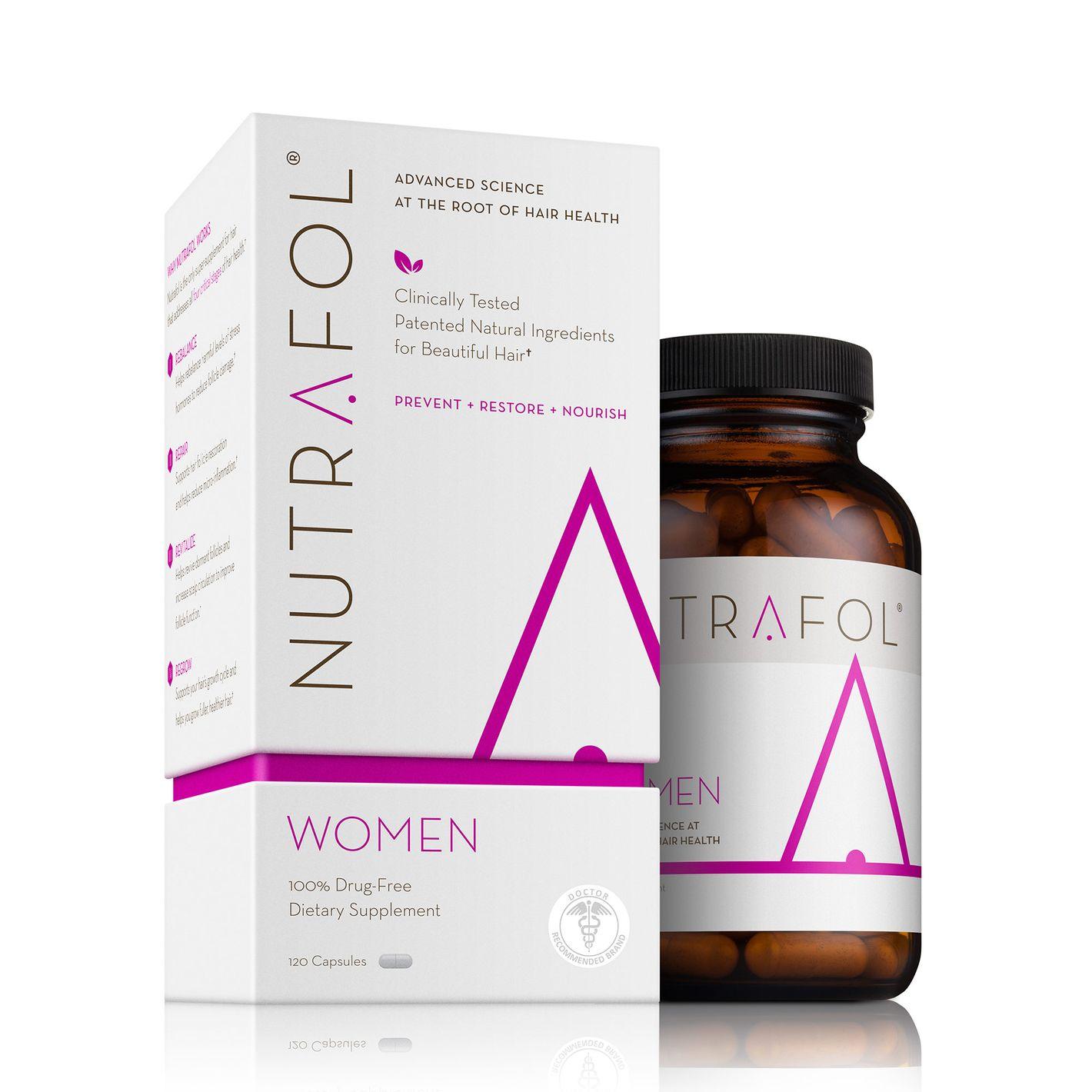 Nutrafol Women Advanced Thinning Hair & Hair Loss Supplement