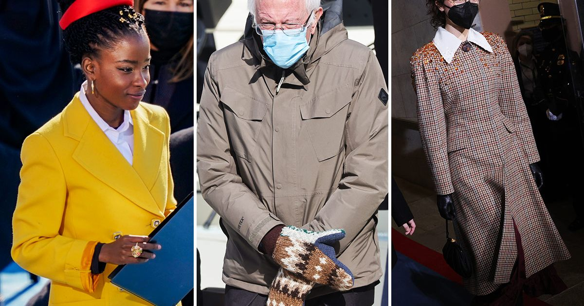 From Bernie's Mittens to Baby Biden's Bonnet, the Best Inauguration Day Attire