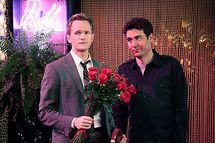 """""""Karma"""" --  Ted (Josh Radnor) goes out with and Barney (Neil Patrick Harris) while he continues to pursue Quinn, even after learning she is a stripper, on HOW I MET YOUR MOTHER, Monday, Feb. 27 (8:00-8:30 PM, ET/PT) on the CBS Television Network."""