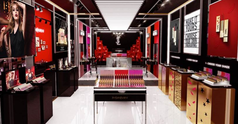 Ysl Beauty Launches First Nyc Pop Up Store