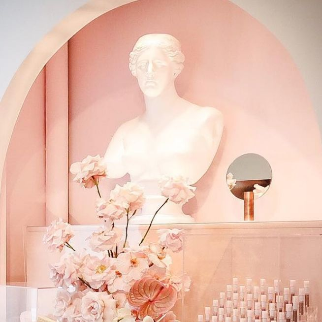 Glossier's New York City Showroom.