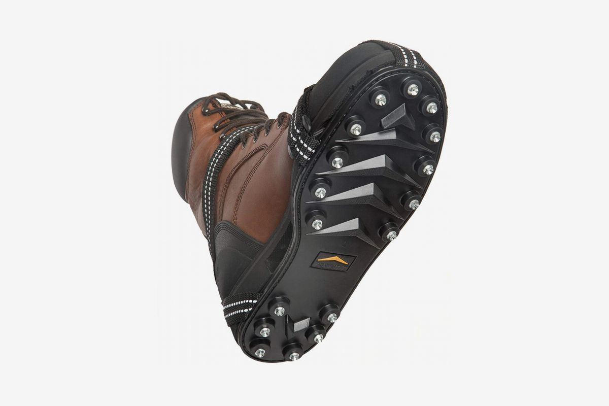 Wistar Hiking Cleats Ice Grippers Traction Ice Cleat and Tread for Snow /& Ice Black Rubber Spike Shoes and Boots