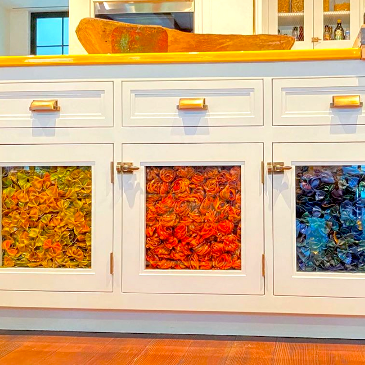 Gigi Hadid S Apartment Features Cabinets Made Of Pasta