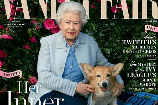 Queen Elizabeth II is magazine cover star in Leibovitz photo