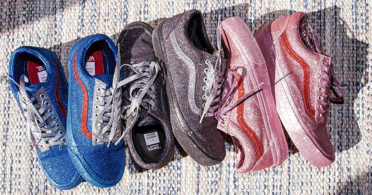 Vans X Opening Ceremony Get The New Glittery Sneakers Now