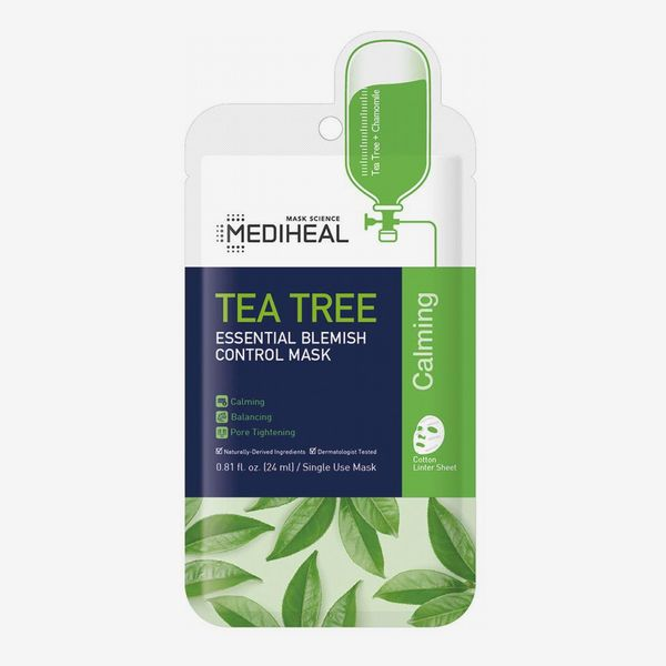 Mediheal Tea Tree Essential Blemish Control Sheet Mask (5 Masks)