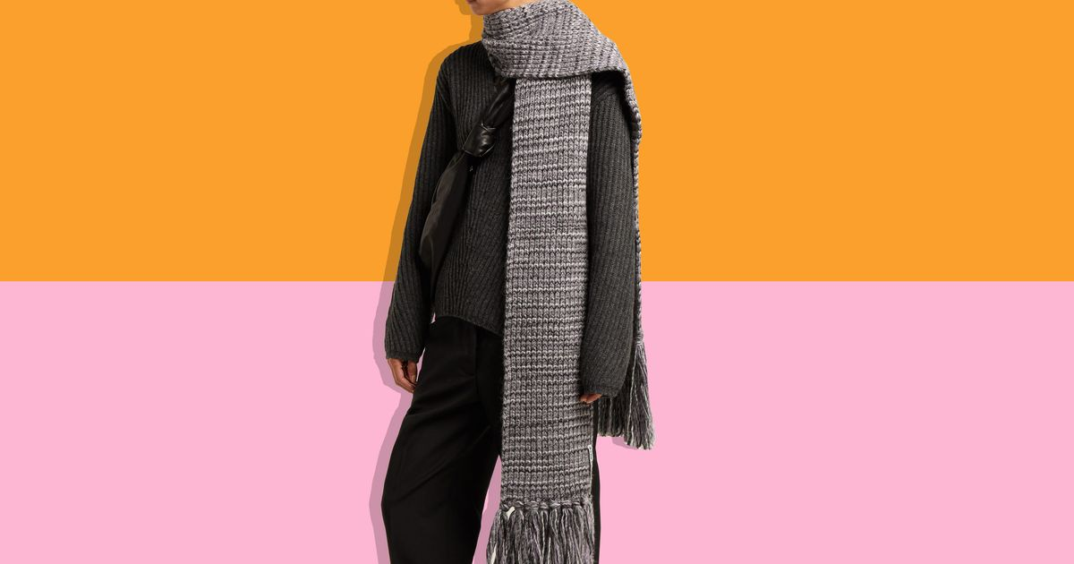 The Scarf You Wish You'd Gotten for Christmas Is on Sale