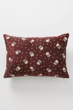 Anthropologie Tiana Ditsy Floral Pillow