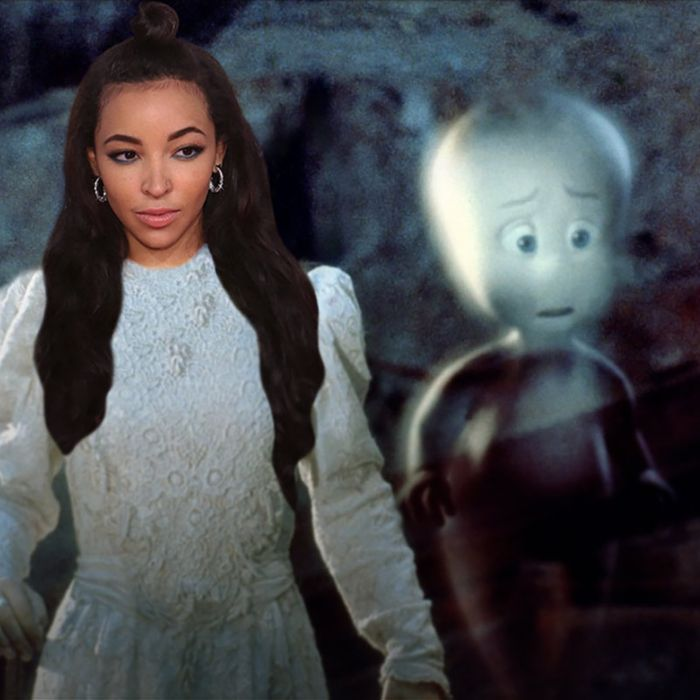 Tinashe is on the hunt for her own Casper.