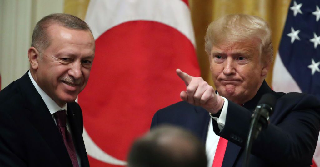 Trump Serves as Erdogan's PR Guy in Joint Press Conference