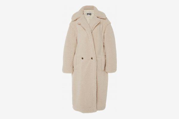 Apparis Daryna Collared Faux Shearling Coat