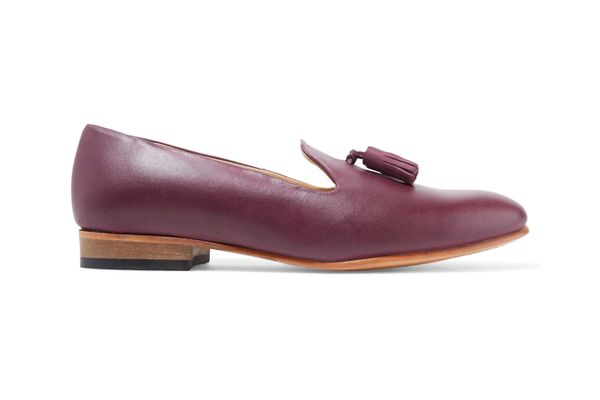 Dieppa Restrepo Gaston Tasseled Leather Loafers
