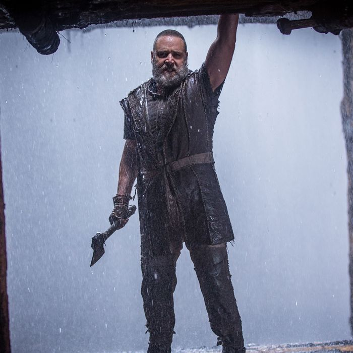 Russell Crowe is Noah in NOAH, from Paramount Pictures and Regency Enterprises.N-34852C