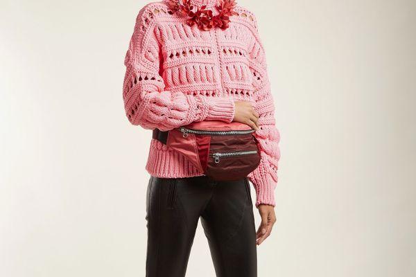 Isabel Marant Noomi Tri-Colour Belt Bag