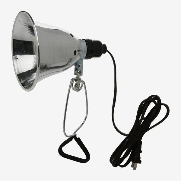 Woods 60-Watt Clamp Lamp with 6-Foot Cord