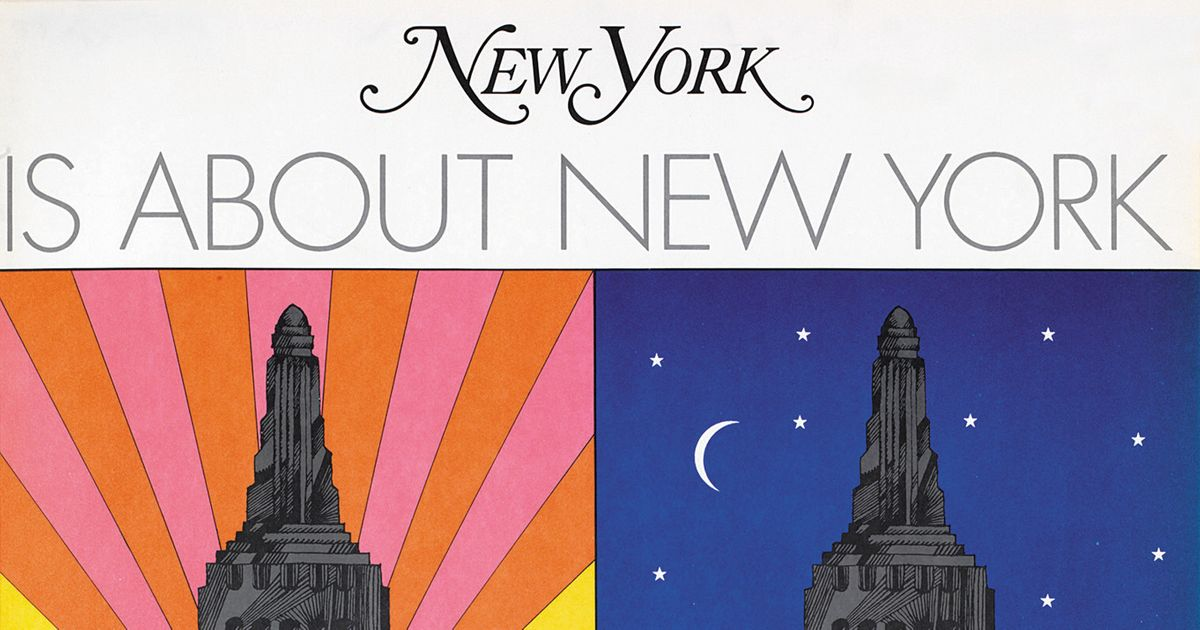 Milton Glaser, Co-Founder of New York Magazine and Creator of 'I❤NY,' Dies at 91