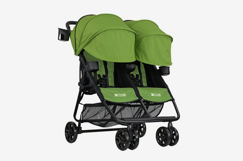 ZOE XL2 BEST v2 Lightweight Double Travel & Everyday Umbrella Twin Stroller System
