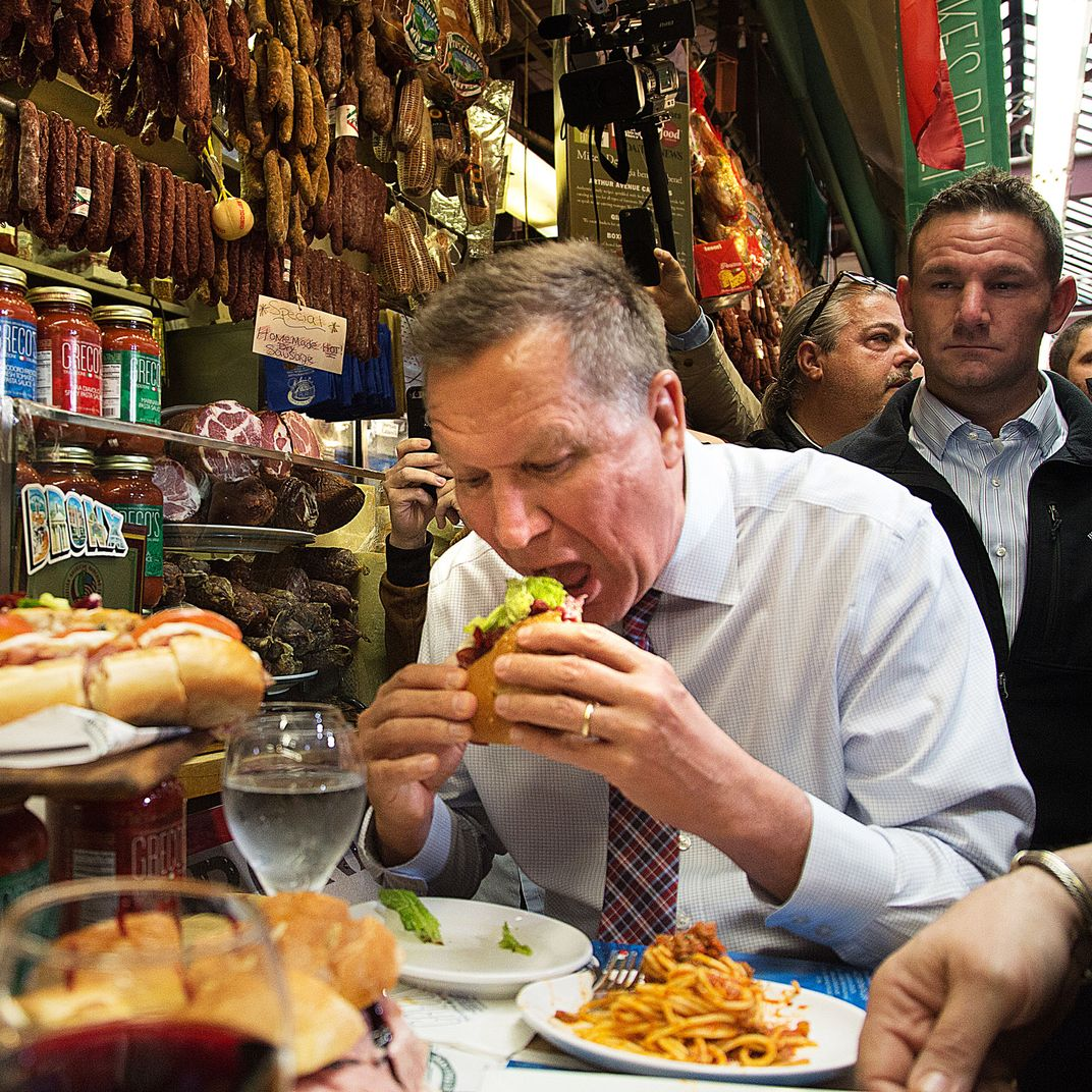 politicians need to stop eating food in public