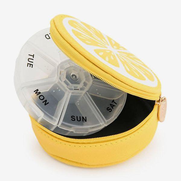 Miamica Lemon Pill Case