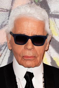 Karl Lagerfeld attends the Rose Ball 2014 in aid of the Princess Grace Foundation at Sporting Monte-Carlo on March 29, 2014 in Monte-Carlo, Monaco.
