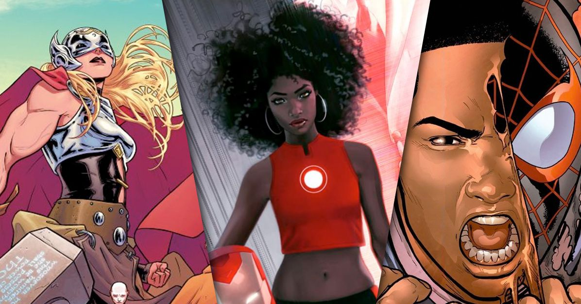 Geeks Are Angry About Iron Man Becoming a Black Girl — But Not for the Reason You'd Think