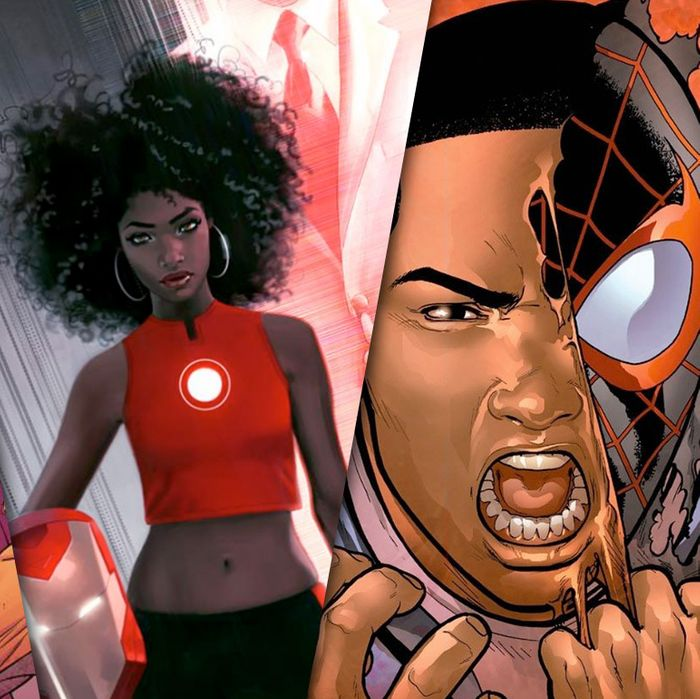 02cca5b13757a Geeks Are Angry About Iron Man Becoming a Black Girl — But Not for ...