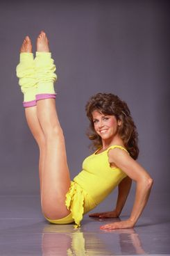 Eighties fitness icon Jane Fonda.