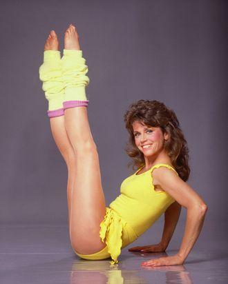 Eighties fitness icon Jane Fonda.