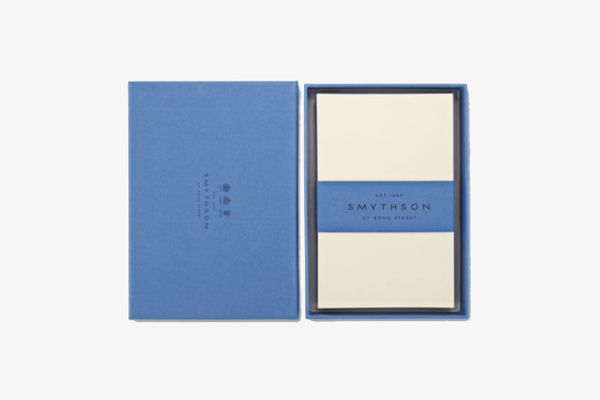 Smythson Cream Wove Kings Correspondence Cards