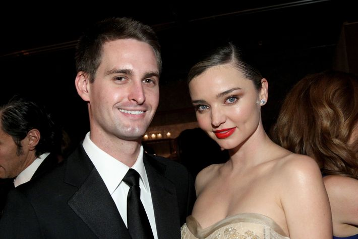 Are Evan Spiegel and Miranda Kerr practising abstinence before marriage?