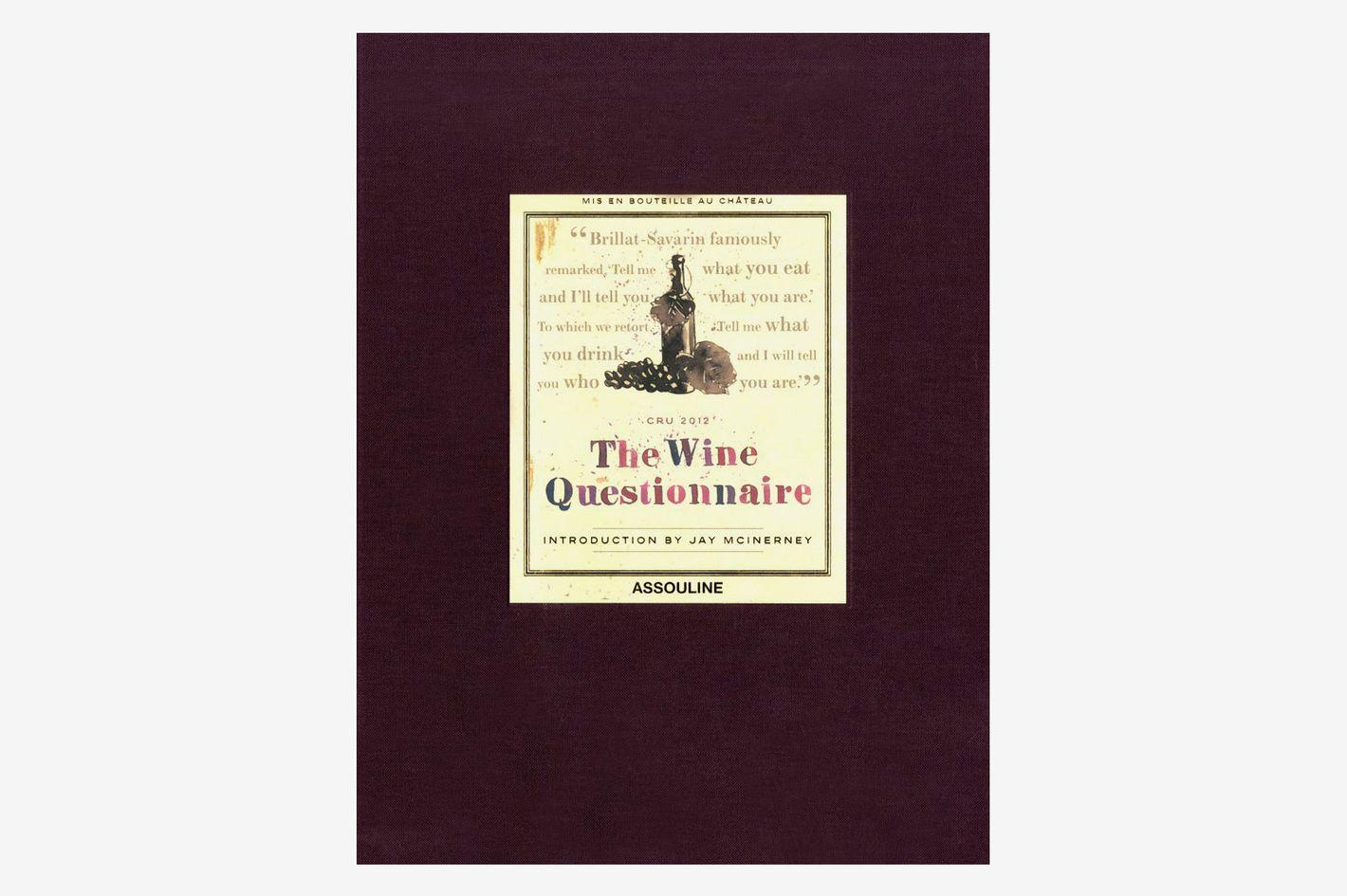 Wine Questionnaire (Classics)