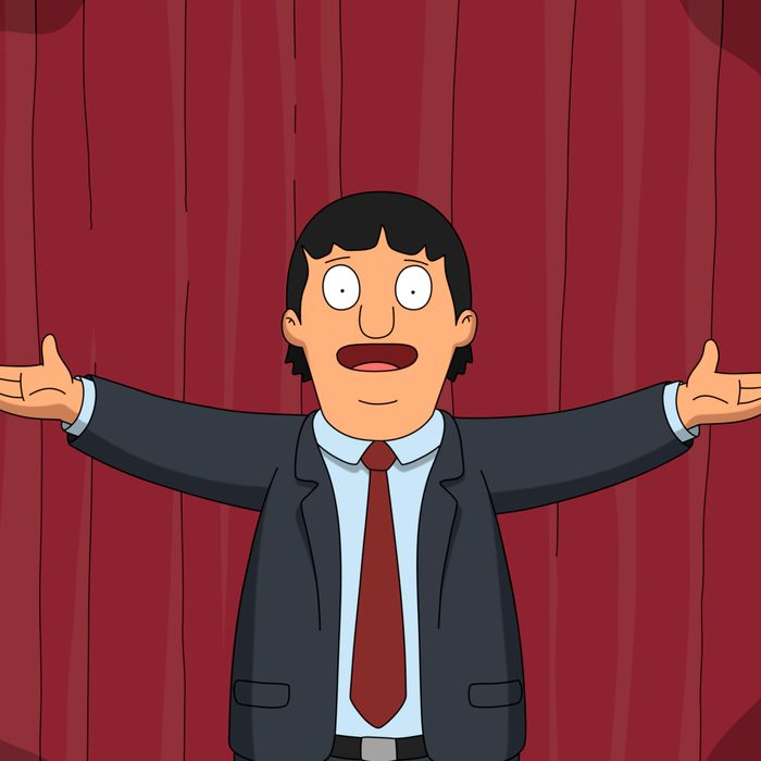 BOB'S BURGERS: Gene must decide if the show can go on when his musical tribute to two beloved 80's movie hits is challenged by another classmate's school play in the all-new